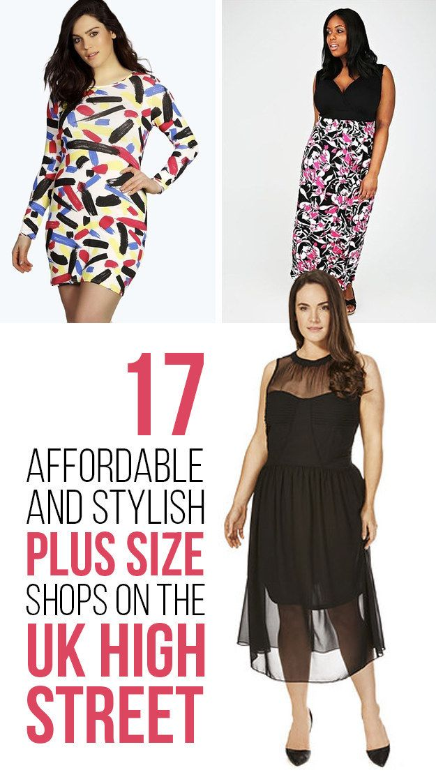 17 Stylish And Affordable Plus-Size Shops On The High Street