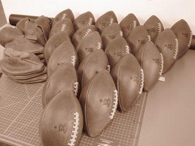 Leather Head Football Construction