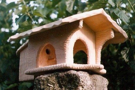 Bird Feeders. Bird Houses. Vogelhäuschen.