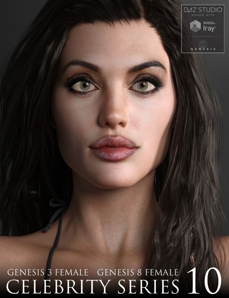 NEW Celebrity Series 10 for Genesis 3 and Genesis 8 Female http://www.most-digital-creations.com/poser_daz_studio_all_products.htm
