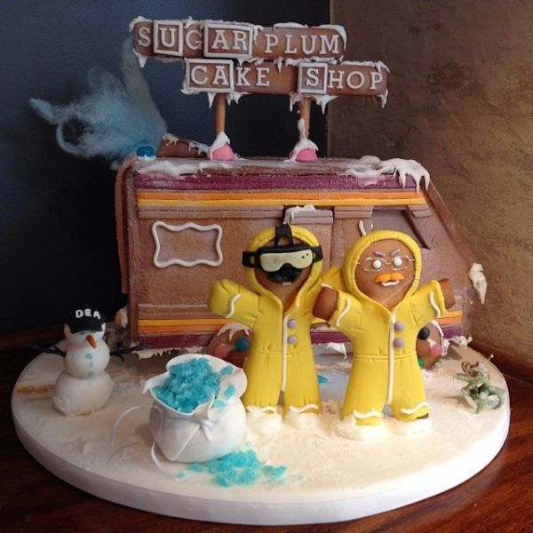 The Breaking Bad Gingerbread House