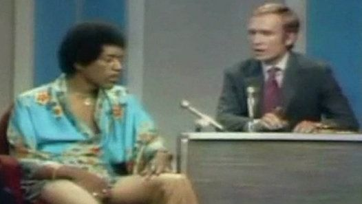 Jimi Hendrix Interviewed by Dick Cavett - 1969