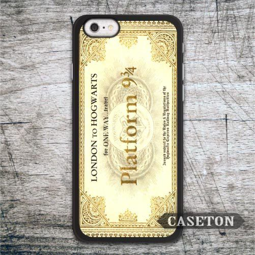 Hogwarts Express Train Ticket Harry Potter Case For iPhone 7 6 6s Plus 5 5s SE 5c 4 4s and For iPod 5 Classic Lovely Phone Cases //Price: $US $2.99 & FREE Shipping //     #ipad