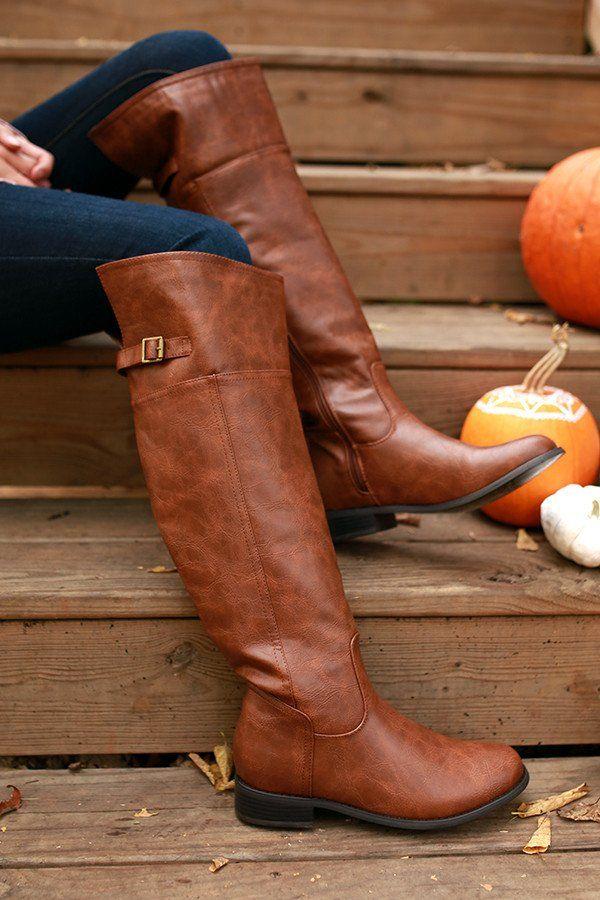 Soho Style Knee High Boot
