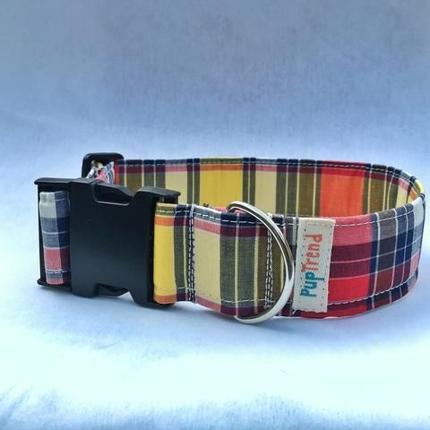 Perfectly Plaid Dog Collar The Hottest Handcrafted Dog & Cat Collars / Cheap Online Price