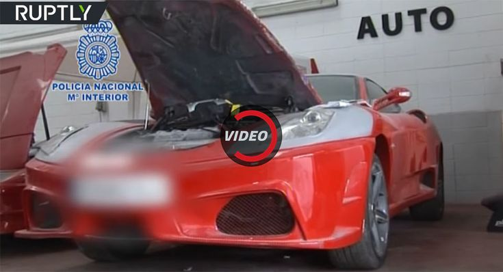 Spanish Police Uncover Counterfeit Ferrari And Lamborghini Shop