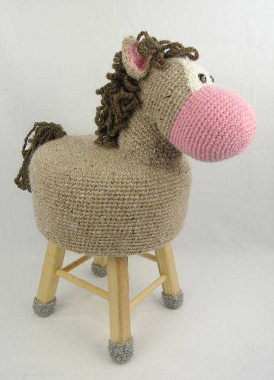 Dieren kruk paard Haakpret