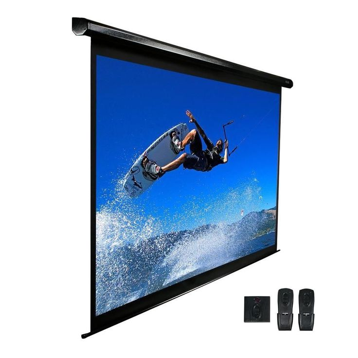 11 best electronics home theater systems images on pinterest 100 in electric projection screen with white case and 24 in drop fandeluxe Gallery
