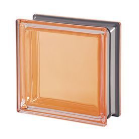 Design It Mendini 5-Pack Glass Block (Common: 8-In H X 8-In W X 3-In D; Actual: 7.5-In H X 7.5-In W X 3.15-In D) 113028C