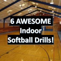 6 AWESOME Indoor Softball Drills