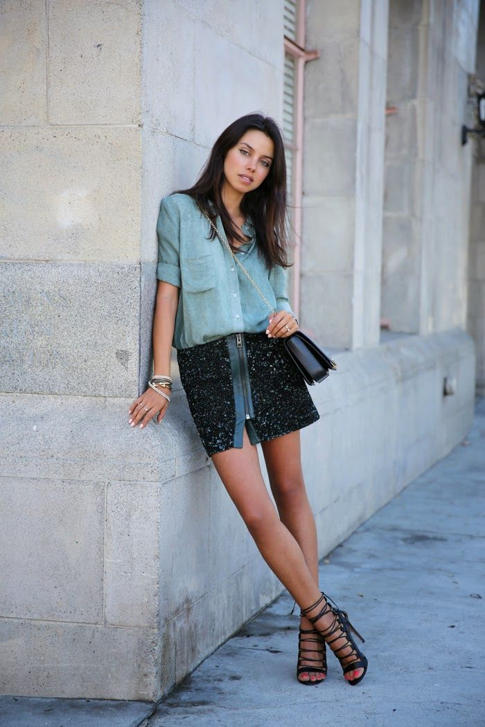 25 Ways to Pull Off Sequins—in Broad Daylight: StyleCaster waysify