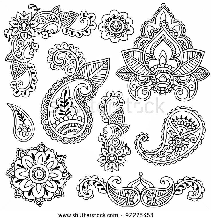 Mejores 64 imágenes de Diseños Tatuajes henna en Pinterest | Diseños ...