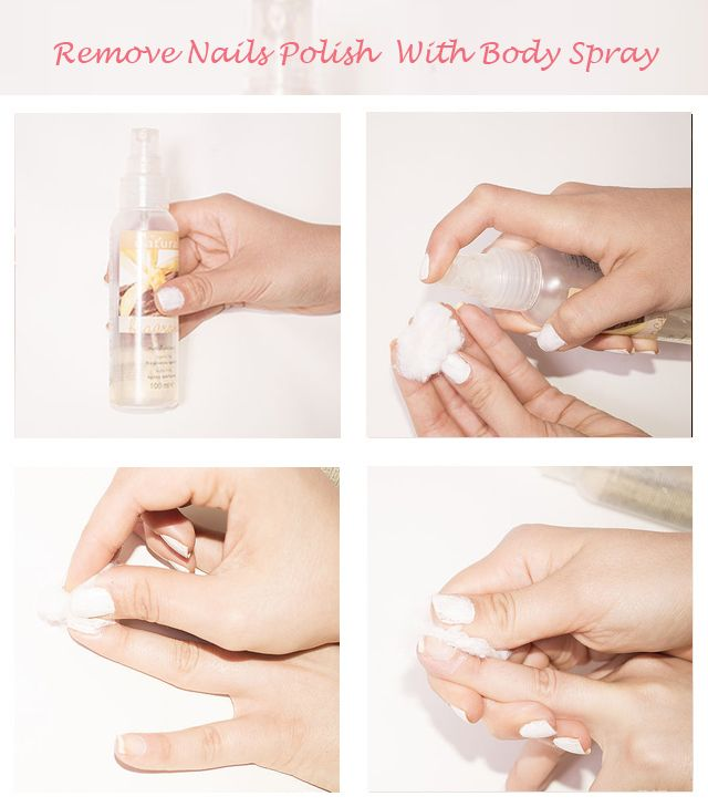 How To Remove Nail Polish Without Using Nail Polish
