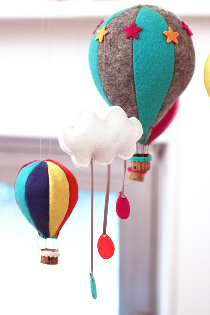 mobile, hot air balloon, montgolfière, kidsroom, diy http://www.cherie-sheriff.com/blog/?p=3467