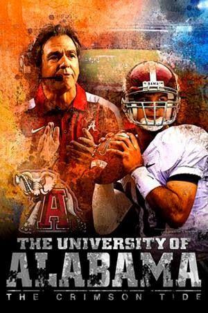 Alabama football. Roll tide