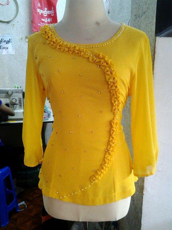 myanmar traditional blouse
