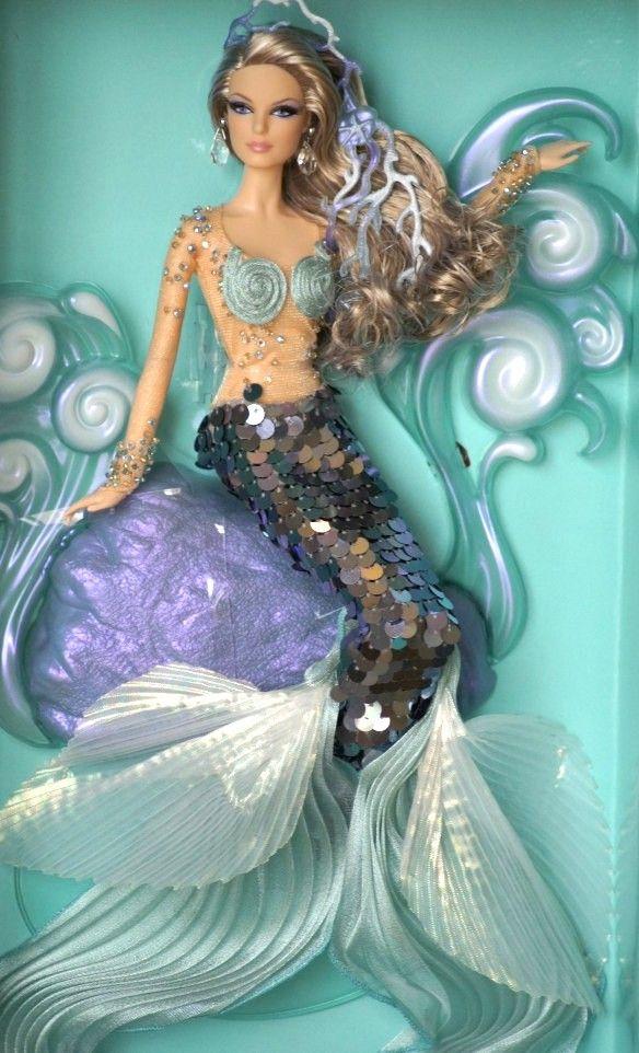 Barbie sereia.