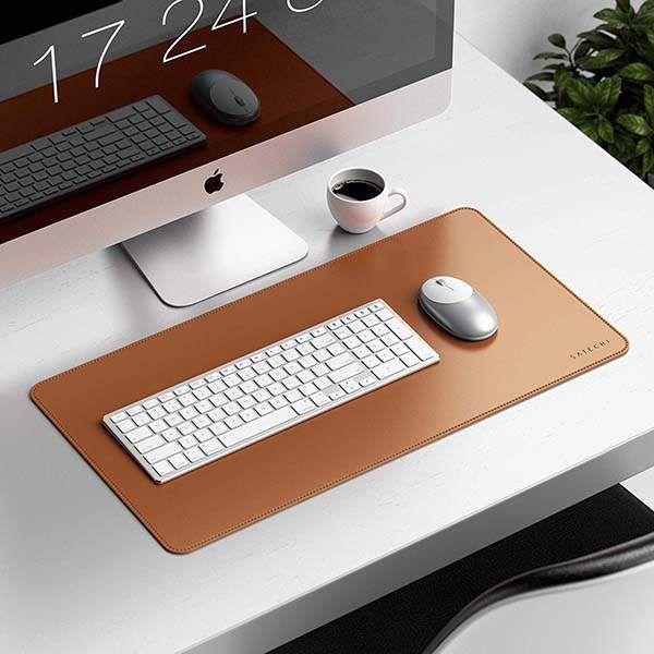 Satechi Eco Leather Deskmate Desk Mat Desk Mat Leather Leather Diy