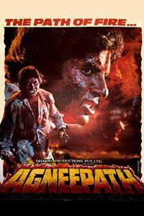Agneepath (1990) Hindi Movie Online in HD - Einthusan Amitabh Bachchan, Mithun Chakraborty, Madhavi Directed by Mukul Anand Music by Laxmikant-Pyarelal 1990 [UA] ENGLISH SUBTITLE