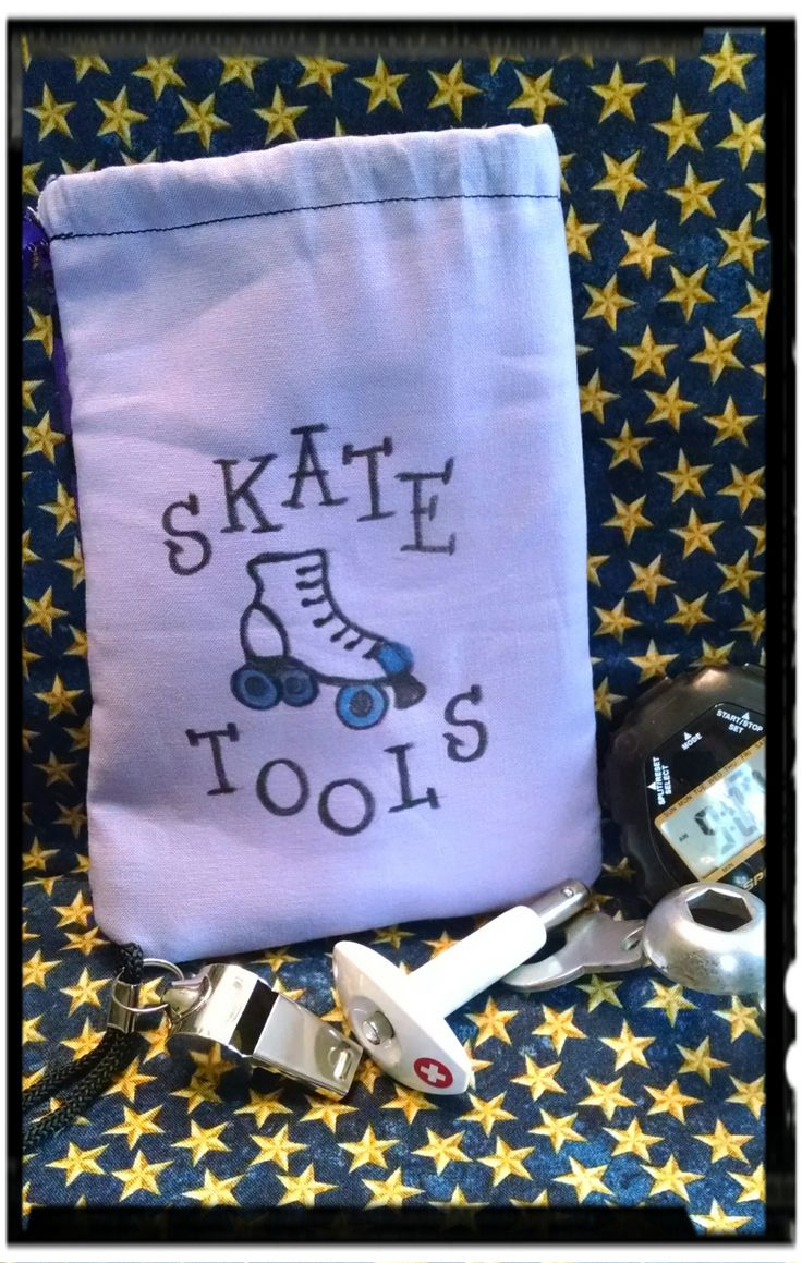 Zoella roller skates - Skate Tool Bag 4 In Wide By 6 In Tall Lined With Felt
