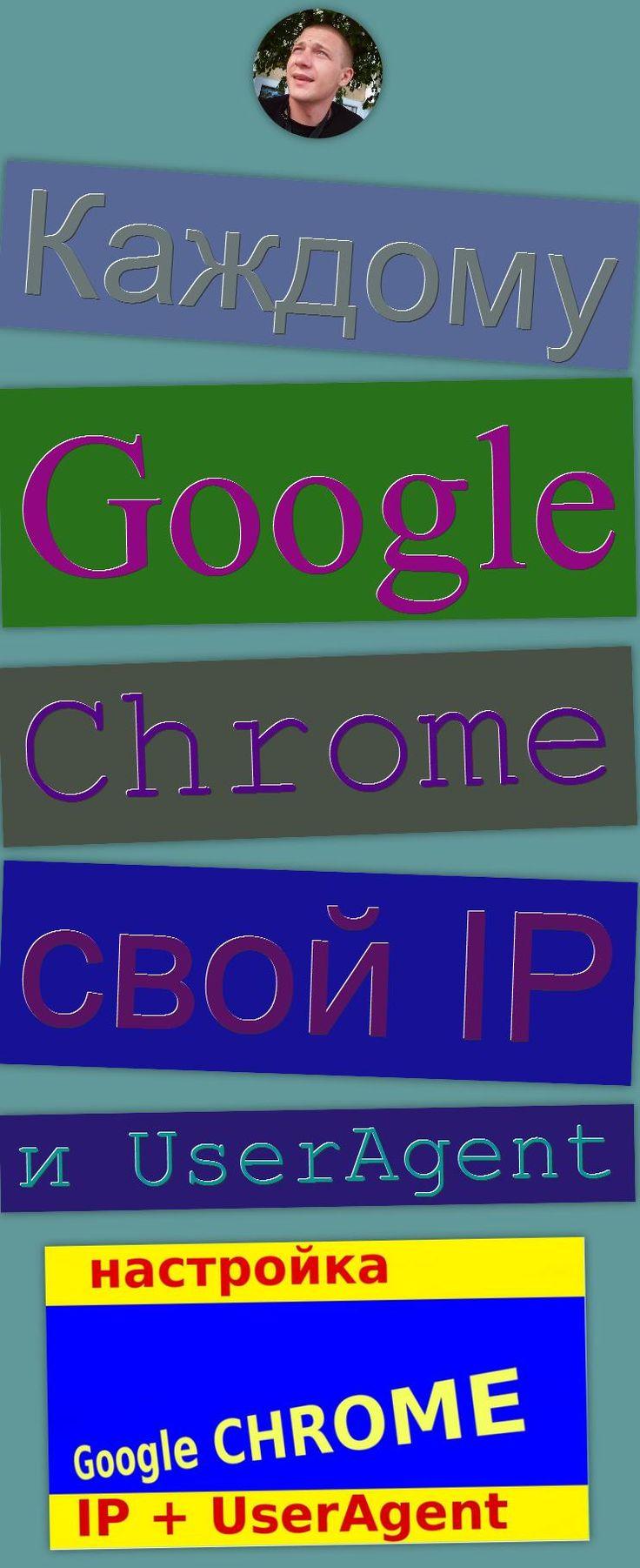 Каждому Google Chrome свой IP и UserAgent изменение юзерагента, изменение IP, анонимность в интернете, Google (Award Winner), Proxy, конфиденциальность в сети, Google Chrome (Web Browser), Software (Industry), UserAgent, IP