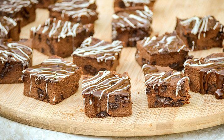 Triple Chocolate Fudge Protein Brownies - Bodybuilding.com