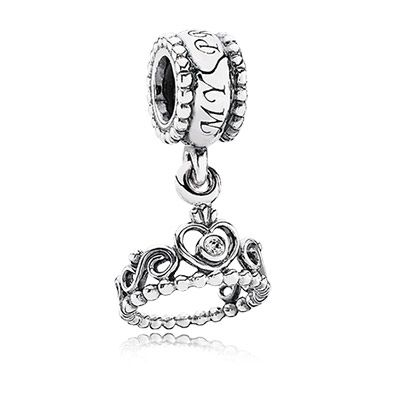 PANDORA   My princess, clear cz Call 208-323-5988 to order yours today! Visit http://www.jewelrymoments.com/ for our blog and more Pandora Jewelry!