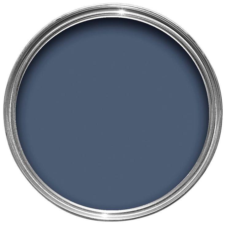 Dulux Timeless Classics Breton Blue Matt Emulsion Paint 2.5L | Departments | DIY at B&Q