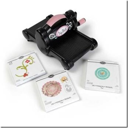 Another great prize pack from Sizzix - only $10 for a ticket to win one of over 4500 dollars in prizes