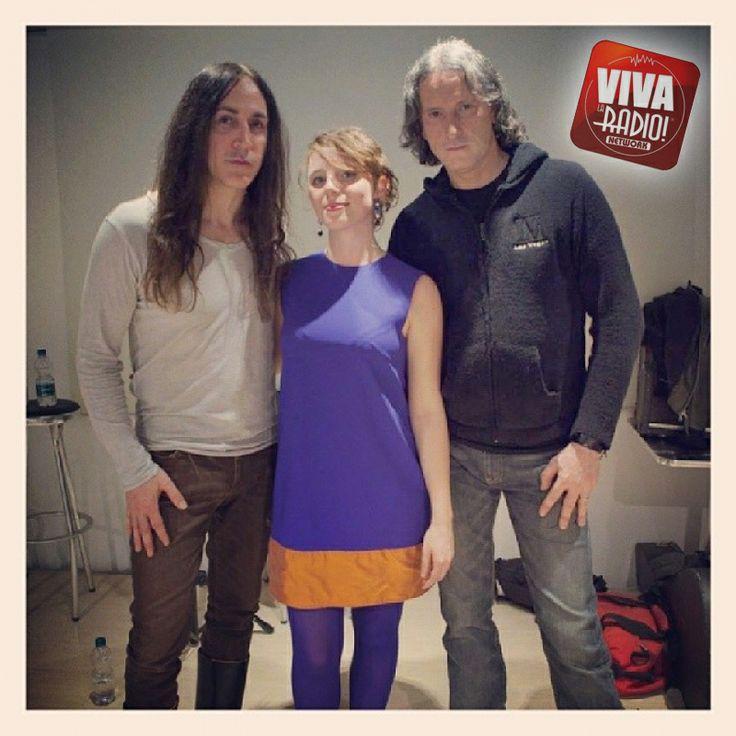 #vivalaradio intervista gli #Afterhours a Torino con #CorinneChinnici