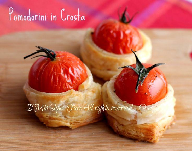 Pomodorini in crosta antipasto sfizioso