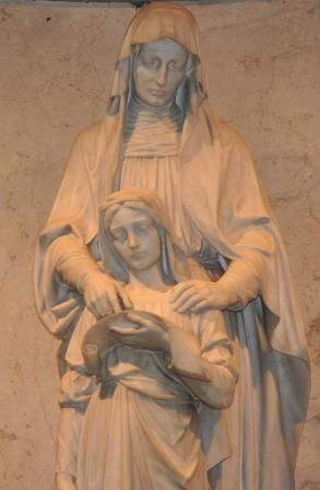 Statue of St. Anne