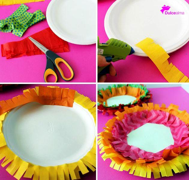 Las fiestas continuan, aquí una excelente idea para decorar tu mesa mexicana. #DulceAlma #FelizSábado