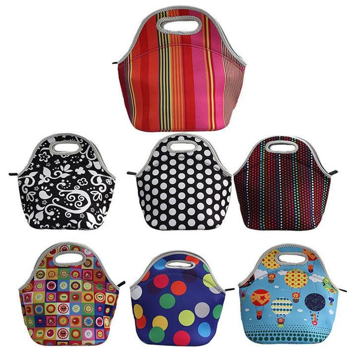 Thermo Thermal Insulated Neoprene Lunch Bag for Women Kids Lunchbags Tote With Zipper Cooler Lunch Box Insulation Bag CSY0350-in Lunch Bags from Luggage & Bags on Aliexpress.com | Alibaba Group