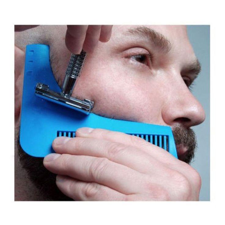 Bro Membentuk Alat Seks Man Pria Jenggot Jenggot jenggot Trim molding potong template Template rambut memotong rambut jenggot pemodelan alat