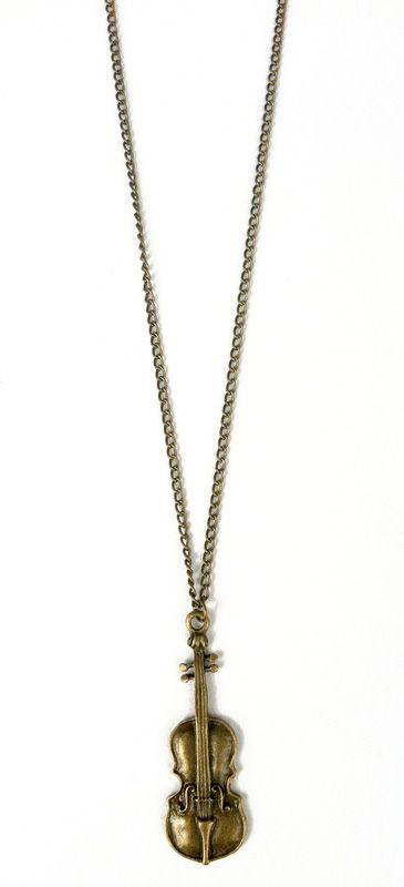 Vintage guitar necklace