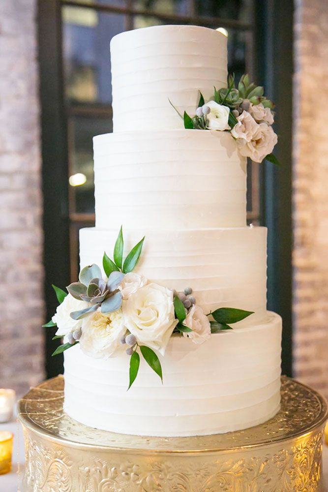 30 Beautiful Wedding Cakes The Best From Pinterest Wedding Cake Table Decorations Beautiful Wedding Cakes Wedding Reception Cake