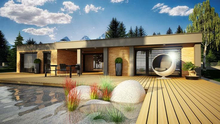 bungalov moderní - Hledat Googlem