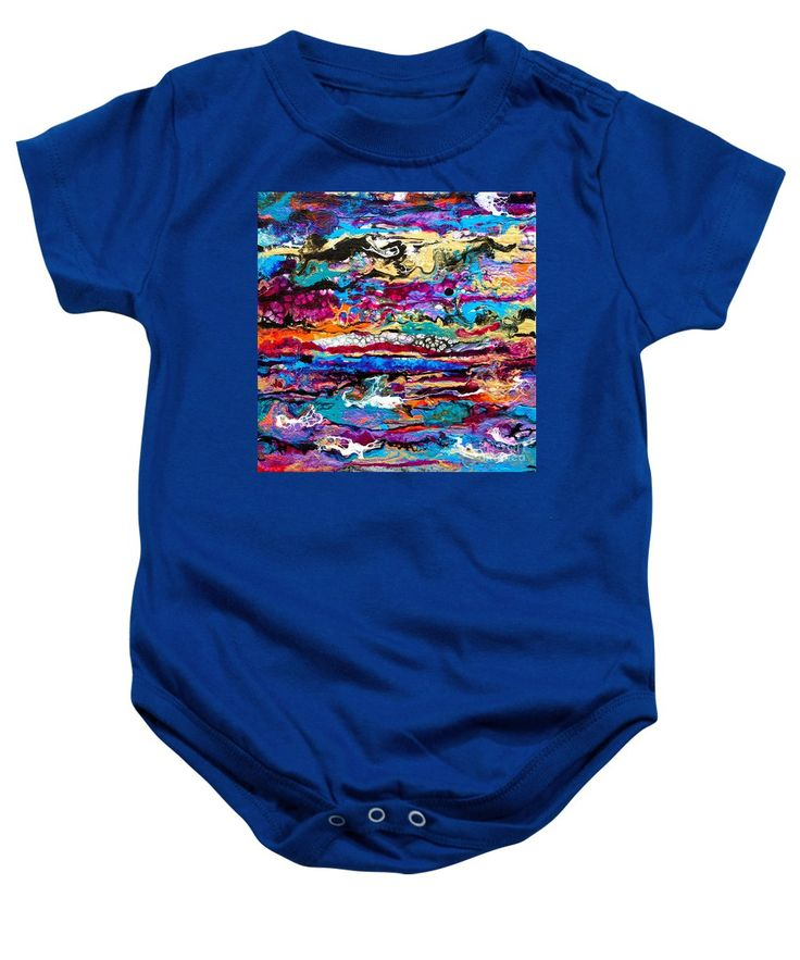 Purchase a baby onesie featuring the image of #521  Bright Swipe by Expressionistart studio Priscilla Batzell.  Available in sizes S - XL.  Each onesie is printed on-demand, ships within 1 - 2 business days, and comes with a 30-day money-back guarantee.