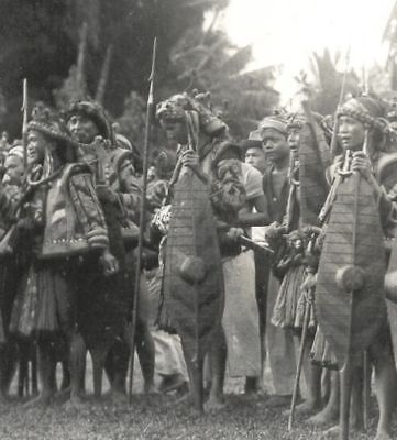 Nias-photo-Warriors-Costume-Telukdalam-Indonesia-30s