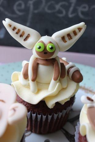 Hermosos #Cupcakes de #momo 3D, completamente comestibles. #bogota