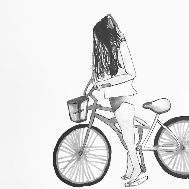 "Un día un sabio dijo: ""lo que gastas en tu bicicleta, lo ahorras en salud."" 😅🚲😍 #bicicleta #lifestyle #lifedrawing #like4like #love #likesforlikes #art #arte #artist #artista #artwork #artlovers #sketch #sketching #sketches #sketchbook #streetstyle #vintage #drawing #draw #ilustracion #illustration #drawingoftheday #drawings #freedom #go #instagrammers #instamoment #hipster #hipstergirl"