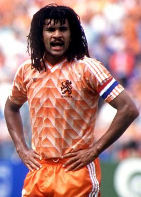 Ruud Gullit - when he looked like this.