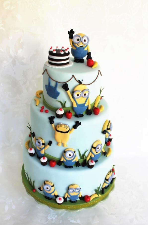 Minions party - Cake by Kateřina Lončáková
