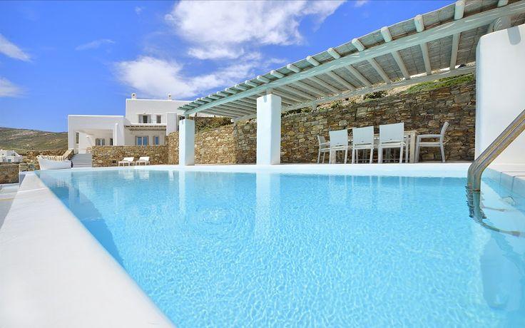 Private pool Suricata villas in Mykonos Greece