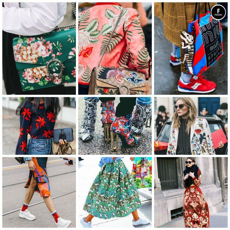 #Tendencia2017  ¡Los estampados son el furor de esta temporada! Bolsos, pantalones, blazers e inclusive zapatos están cargados de print y magia.