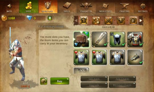 Dungeon Hunter 4 Android Game Review