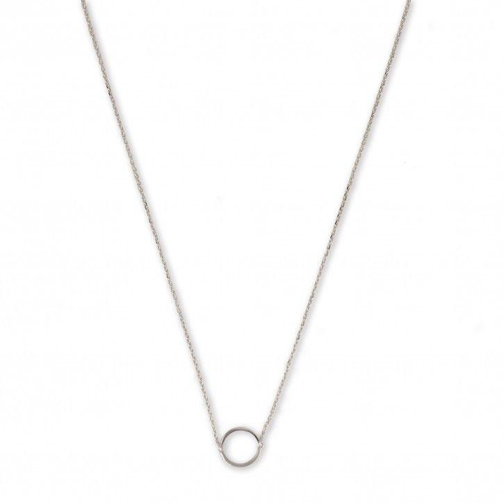 Super Stylish   Necklace   Circle Single *** De Necklace Circle is een subtiel kettinkje van Super Stylish. Het kettinkje is vervaardigd van hoogwaardig sterling 925 met hoogglans finish in zilver, rosé of goud.