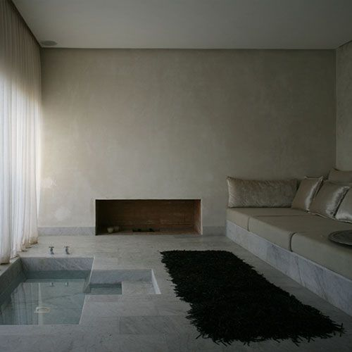 Studio KO - Villa D - Marrakech - ©Dan Glaser > Lounge by the Hammam