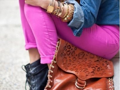 8 Different Takes on Pink Pants …